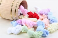 Wholesale Sweat Absorbing Spandex - Socks Baby Adorable Candy Stockings Candy Colored Stockings Children Thin Section Of Socks Absorb Sweat Spandex Winter Spring
