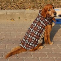 Animali domestici Impermeabili Entrambi i lati possono essere usati Lattice Big Xxl Dog Jacket Giacca Ropa De Perro Winter Clothes Rushed Animaux Chien