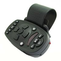 Wholesale Universal Remote Car Key - Wholesale-New 1pcs Universal Steering Wheel IR Remote Control for Car DVD CD MP3 16 keys High-capacity memory