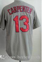 Wholesale Cheap Authentic Cool Base Jersey - Baseball Jerseys #15 Matt Carpenter White Jersey 2015 Cheap Jerseys Authentic Stitched Cool Base Jersey Wholesale