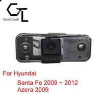 wireless parking reversing camera NZ - For Hyundai Santa Fe 2009 ~ 2012 Azera 2009 Wireless Car Auto Reverse CCD HD Rear View Camera Parking Assistance