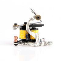 Wholesale Tattoo Gun Coils For Sale - Hot Sale Colorful Handmade Cast Iron Tattoo Machine Shander 10 Wrap Coils Tattoo Gun for Kits TM8376
