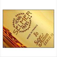 Wholesale Alto Saxophone Sax - Wholesale-Brand Professional E Flat Sax Alto Saxophone France Henri Selmer Alto Saxophone 802 Saxfone E Flat Musical Instruments