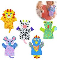 Wholesale Towels Animal Shapes - 10pcs lot 5 style Baby Cartoon Animal Shapes Bath Gloves Bath Towel Children Bath Rub Cuozao Towel Bathing Accessories