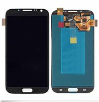 Wholesale Galaxy Ii Lcd Display - Original LCD For Samsung Galaxy Note II 2 N7100 N7102 N7108 N719 N7105 L900 I605 LCD Display Touch Screen Digitizer with Frame Free Shipping