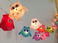 Wholesale owl party lights for sale - Group buy Halloween Owl Animal Shape led string light led wedding partying xmas christmas tree decoration lights led christmas light AC110 V