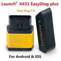 Wholesale Diag Bmw - 100% Original Launch X431 EasyDiag Plus 2.0 OBDII Code Reader for Android ios easy diag with 2 Free Vehicle Software