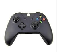 беспроводная связь xbox оптовых-Bluetooth контроллер для Xbox One двойной вибрации Беспроводной джойстик геймпад для Microsoft Xbox One бесплатная доставка