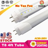 Grosses soldes! 4ft T8 Led Tube haute Super Bright 18W 20W 22W Chaud Froid Blanc Led fluocompactes AC110-240V Tubes LED Eclairage