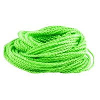 cuerdas de yoyo al por mayor-10x Cuerdas Yoyo 100% Poliéster Cuerda de cuerda YoYo Accesorios de neón verde para bola Yoyo Regalo de los niños