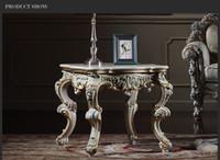 muebles antiguos barrocos de la sala de estarfrancs clsico mesa de caf con pintura