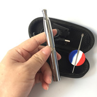 ingrosso set di asta della penna-puffco ego fa cera concentrato vaporizzatore vape pen vaporizzatore e kit di sigarette in ceramica batteria al quarzo rod elemento riscaldante