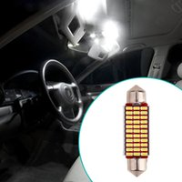 1Pc 41mm 33SMD Car-styling Double Point High Light Auto Codage Lampe de lecture Led Intérieur Car Lights Voiture Diodes électroluminescentes