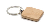 Wholesale Personalized Wood Frames - NEW avrival !Personalized Wood Round Key Chain, Key Ring Custom Engraved Key Chain Wedding Gift KW01F DROP SHIPPING