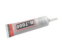 cola multiuso venda por atacado-Atacado-3pcs de alta qualidade B7000 50ml multi-purpose cola adesiva Stick para jóias Nails Mobile Phone Glass frete grátis