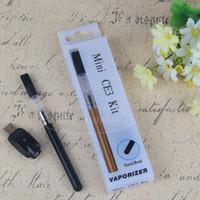 Wholesale stylus pen kits for sale - Group buy CE3 Electronic Cigarette Blister Pack Bud Touch Vape Pen Starter Kit ml ml Wax Oil Vaporizer Cartridge Open Buttonless Stylus Battery