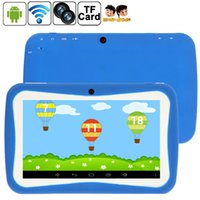CBP spanish educational - Table inch Quad Core Kids Children Tablet PC GB RK3126 Android MID Dual Cam Educational Games App Birthday Gift