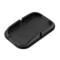anti-rutsch-pad für gps großhandel-Universal-Multifunktions-Auto Anti-Rutsch-Pad Gummi Mobile Sticky-Stick Armaturenbrett Telefon Regal Antislip-Matte für GPS MP3