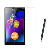 "Wholesale Anti Glare Tablets - Wholesale- New Anti-Glare Matted Screen Protector Protective Matted Film +1x Stylus Touch Pen For Lenovo Tab 2 Tab2 A7-20 A7-20F 7"" Tablet"