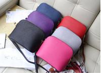 Wholesale Dress Shell Pink - Wholesale Fashion Handbags Designer Tote Bags 2016 Newest European Plaid Stripe Three-piece Composite Bags Shoulder Bag For Women Purse