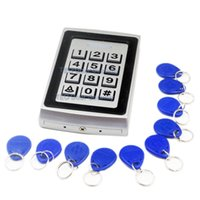 Wholesale Keypad Reader - 2000Users Matal Case Door Access Control Controller Proximity RFID Reader with Keypad