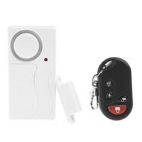 Wholesale Wireless Security Alarm Contacts - Home Door Entry Alarm Remote Control Wireless Door Magnetic Sensor Siren Smart Home Security Door Window Contact Alarm System