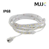 ip68 llevó luces de tira del rgb al por mayor-Iluminación de la lámpara de la luz de tira de la prenda impermeable 300 de los 5M 72W 12V IP68 SMD RGB 5050 LED para la Navidad