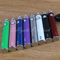 Wholesale Chargers Wholesale China - MT3 EVOD vape pen mt3 vaporizer 650 900 1100 mah batteries for ce4 ce5 mt3 h2 high quality china suppliers with usb charger