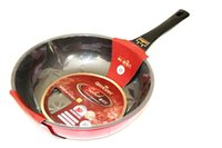 original quality fry pans - Super Quality Original Brand New Queen cookware woks cm non stick coating cookware none smoke pot frying pan in