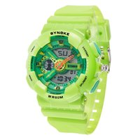 Wholesale Cartoon Watches Female - Wholesale-SYNOKE Fashion Watches Men Women Cartoon Digital Watch Female Male Wristwatches Digital-watch Sport Cartoon-watch Clock 66988