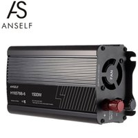 Wholesale Solar Waving - ANSELF 1500W DC12V to AC220-240V AC Household Solar Power Inverter Converter Modified Sine Wave Form H16576