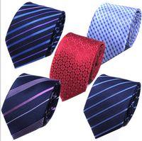hochzeitskleid knoten großhandel-2019 hot Fashion Silk Krawatte Mens Dress Tie hochzeit Business knoten festes kleid Krawatte Für Männer Krawatten Handgemachte Hochzeit Krawatte zubehör