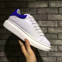 Wholesale British Sneakers - Height Increasing Women Casual Shoes British Style Luxury Brand Lace Up Round Toe Genuine Leather Breathable Sneakers 23 Colors Collection