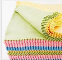 Wholesale Wholesale Cloth Pads - MICROFIBER CLEANING CLOTH 13*13 DUST WASH GLASS DETAILING AUTO DETAILING GLASSES LCD LED TV CLEANING CLOTH