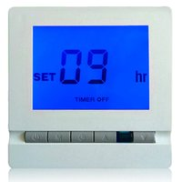Wholesale Remote Control Temperature Controller - Wireless Heating Thermostat with Remote Control LCD Temperature Controller thermometre estacion metereologica weather station