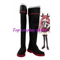 Wholesale Kotori Itsuka Anime - Wholesale-Freeshipping custom-made anime Date A Live Itsuka Kotori Cosplay Boots for Halloween Christmas festival
