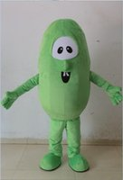 Wholesale Cucumber Mascot Make - Adult cucumber costume cucumber mascot costume cuke costume for sale