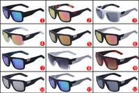 12 cadre achat en gros de-Lunettes de soleil de haute qualité 12 couleurs en gros FOX - La mode de Decorum Lunettes de soleil de couleur Dazzle grand cadre Lunettes de soleil FOX03