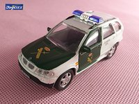 Wholesale Police 43 - Brand New JOYCITY 1 43 Scale Car Toys Germany B-M-W X5 GUARDIA CIVIL Police Ver. Diecast Metal Car Model Toy For Gift Kids Collection