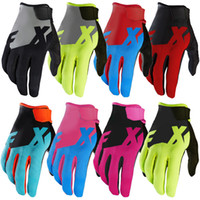 Wholesale Cycling Gloves Woman - New Ranner Motocross Motorcycle Gloves Mountain Bike Cycling Downhill BMX ATV MTB MX DH Gloves Men profession Motocross full finger gloves