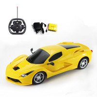 Wholesale Ferrari Kits - Remote-controlled sports car model ferrari car wheel high-speed drift racing car to be able to throw children toy gifts