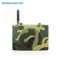 outdoor audio equipment - 1500 meters long distance Wireless remote control Outdoor Hunting bird caller equipment with bird sound G memory card