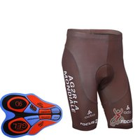 Wholesale Bicycle Riding Shorts Men - Summer mens 2017 AG2R Team Cycling (bib) shorts pant ropa ciclismo Quick-Dry Breathable 9D Gel Padded Riding Bicycle shorts A280