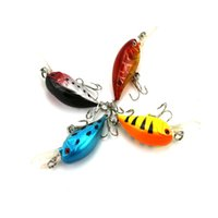 HENGJIA 4 Colori Lunghezza 5.5 CM Peso 7G Richiamo di Pesca Duro Manovella Esca Artificiale Vivid Nuoto Fishing Lure Tackle