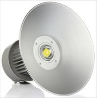 ingrosso baia luminosa-Super bright 50W 100W 150W 200W Illuminazione a LED ad alta luce per garage Illuminazione industriale per officina Lampada ad alta potenza a luce diffusa