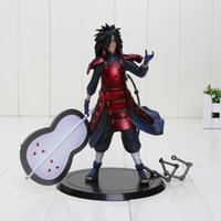 Wholesale Action Figure Madara - Japanese ANIME Naruto uchiha madara PVC action figure Figurine collection model toy doll approx 17CM free shipping
