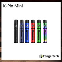 Wholesale wholesale k cup - Kangertech K-PIN Mini Kit All-in-One Design 2ml Tank 1500mah Battery Top Fill Leak Resistant Cup Design 100% Original