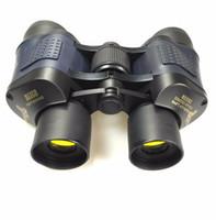 Wholesale binoculars professional - Top 60x60 Binoculars High Power HD Binoculo Telescope Red Film Teleskop Reticle Optic hd vision Professional Monoculo hunting 10pcs lot