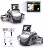 laser-lipolyse-maschinen großhandel-Lipo Laser-Lipolyse, die Cellulite-Abbau-Schönheits-Maschine abnimmt Neueste Fettabbau-650nm-Dioden-Laser-Körper, der das fette Brennen rasiert