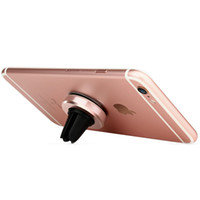 Wholesale air vent cell phone holder online – Car Mount Magnetic Air Vent Universal Mobile Cell Phone Holder for iPhone Plus for Samsung Galaxy S6 S7 Edge for LG
